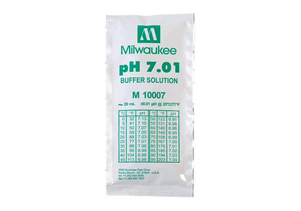Milwaukee Buffer Solution pH7.01 20ml