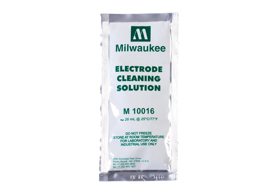 Milwaukee Electrode Cleaning Solution 20ml