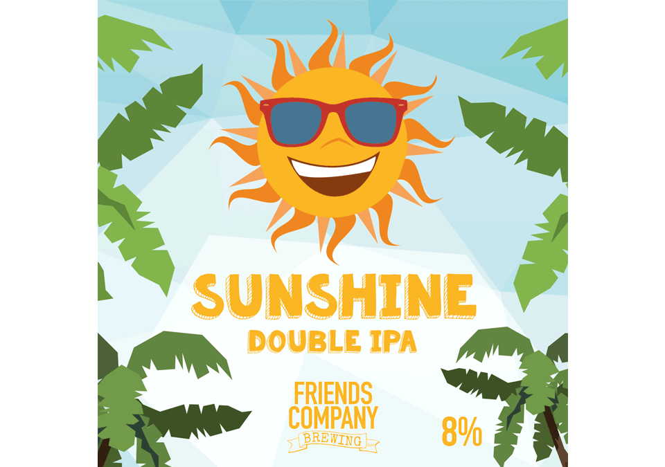 Friends Company Sunshine Double IPA 8% Receptkit