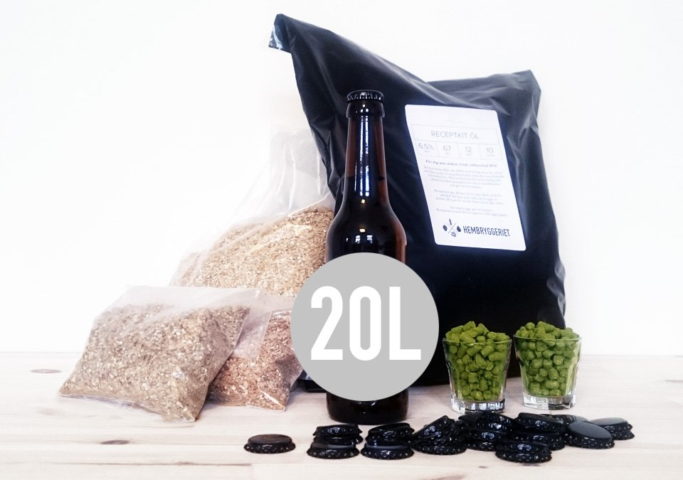 Monk Belgian Dubbel 7% Recipe Kit 20L