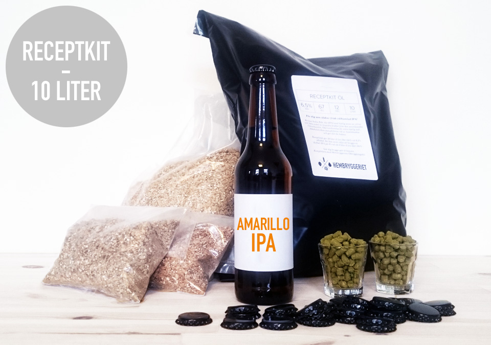 Kveik IPA 6,5% Recipe Kit 10L