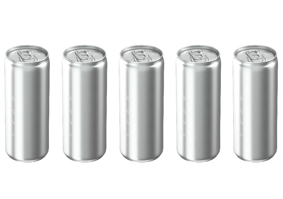 Cans 330ml Sleek Silver CDL 192-pack