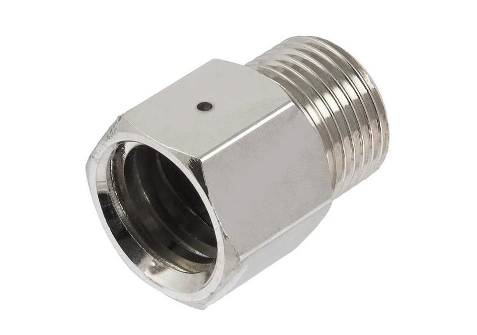 Trapets Adaptor CO2 nickel plated brass (type 2.3)