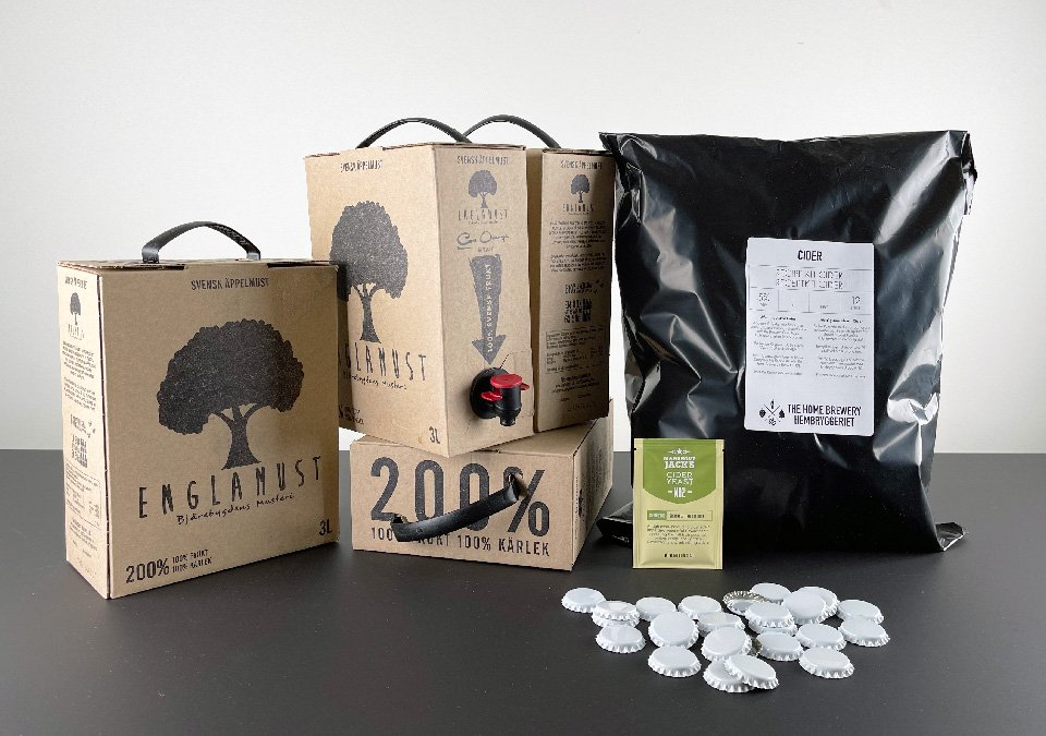 The Home Brewery´s Craft Cider Recipe Kit 12L