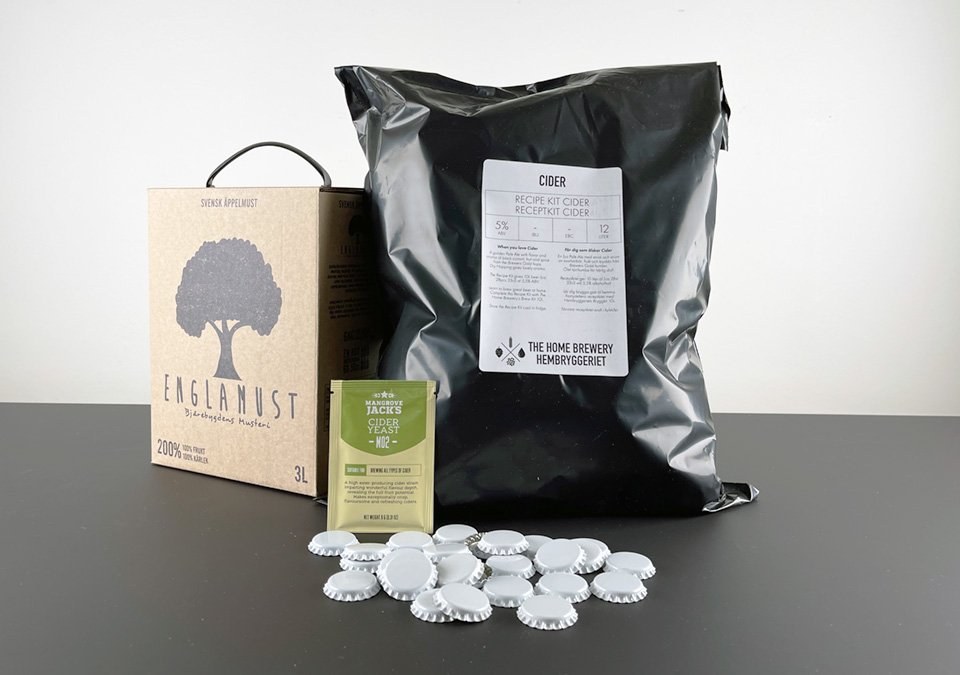The Home Brewery´s Craft Cider Recipe Kit 3L