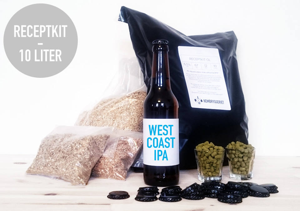 West Coast IPA 6,5% Receptkit